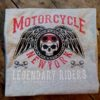 T-shirt Motorcycle New York (ljusgrå)